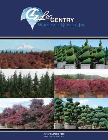 CONTAINER / BB - Leo Gentry Nursery