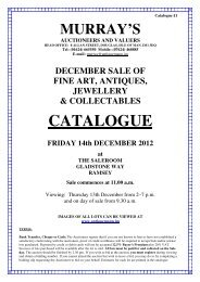 Antiques & Collectables 14th December 2012 - AntiqueMann