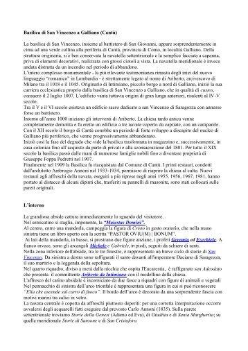 Basilica di San Vincenzo a Galliano - Associazione di Iconografia ...