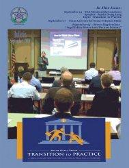 September 2010 - Tarrant County Bar Association