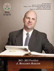 July-August 2012 - Tarrant County Bar Association
