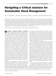 Navigating a Critical Juncture for Sustainable Weed ... - Xavier