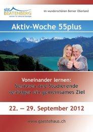 29. September 2012 - sbt Beatenberg Gästehaus