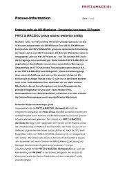 PDF anzeigen - FRITZ & MACZIOL (Schweiz)