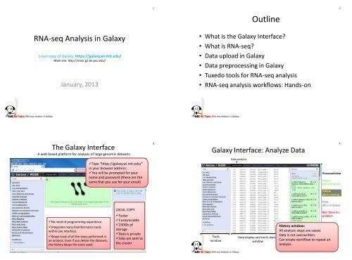 RNA-seq Analysis in Galaxy - MIT