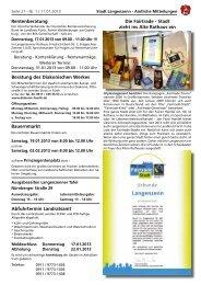 Ausgabe Nr. 01 vom 11.01.2013 Seite 21 - Langenzenn