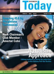 90002_Today Mag 3_2004.qxd - Herbalife Around the World