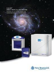 New Brunswick Galaxy CO 2 incubator brochure