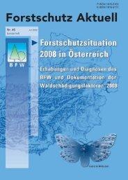 Forstschutz Aktuell - BFW