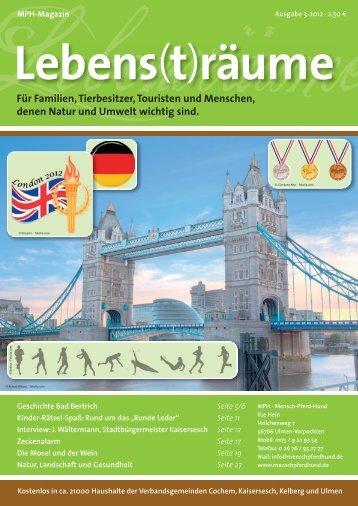 MPH Magazin 3/2012 als PDF - MPH - Mensch Pferd Hund