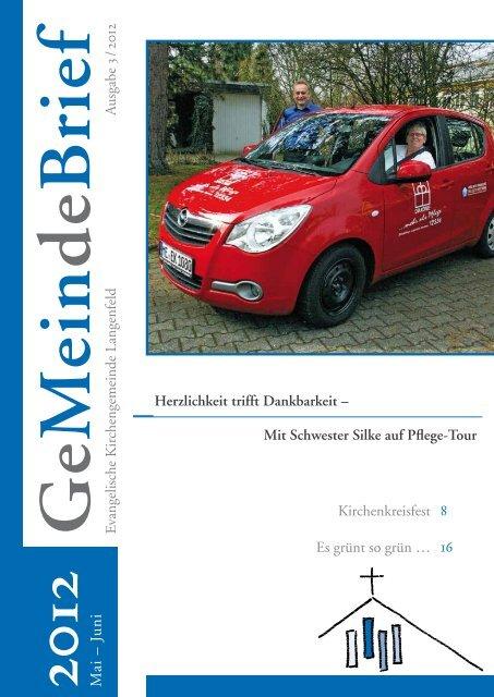 Mai – Juni 2012 - Evangelische Kirchengemeinde Langenfeld