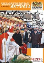 weihnachts - Gewerbeverein Wassenberg eV