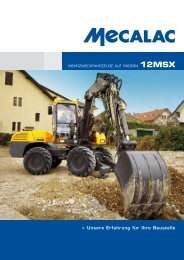 Prospekt 12MSX - Mecalac