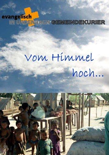 Gemeindebrief 5-2012 - Evangelisch in Urdenbach