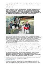 Dynamo Windrad und Vabia bauen Vema-Halle ... - Vabia Vellmar eV