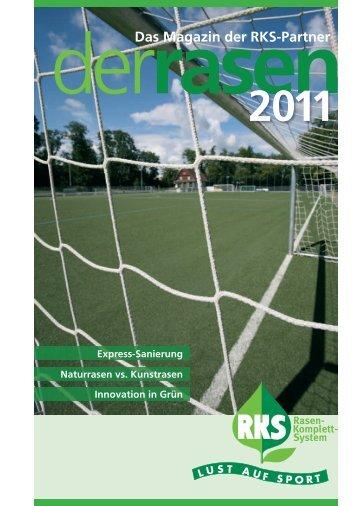 Das Magazin der RKS-Partner - Rasen-Komplett-System RKS