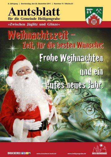 Dezember 2011 - Gemeinde Heiligengrabe