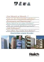 Geschichten unserer Kunden - Artur Reich GmbH & Co.