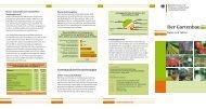 Der Gartenbau - Daten und Fakten (Flyer) - BMELV