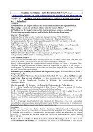 Tischvorlage zur 11. Sitzung - Sieglinde Hartmann
