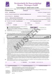 . Treuhand-Vertrag Vertrag Nr. Konto Nr. An der Festeburg 33 60389 ...
