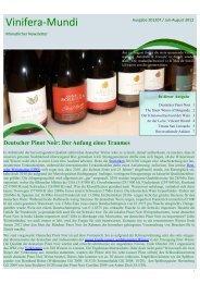 Juli/August 2012 - Burgundy-Report