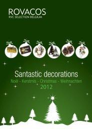 ROVACOS Santastic decorations