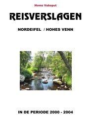 Verslag Ardennen / Eiffel - Vaboput
