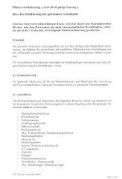 DV Gleitzeit - Universitätsklinikum Essen