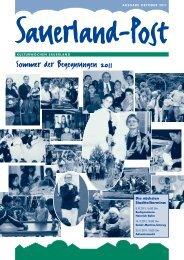 Sauerlandpost September 2011 - und Beratungszentrum Sauerland