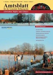 Amtsblatt für die Gemeinde Heiligengrabe »Zwischen Jäglitz und