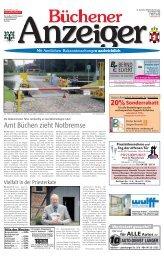 Amt Büchen zieht Notbremse - Kurt Viebranz Verlag