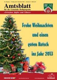Dezember 2012 - Gemeinde Heiligengrabe