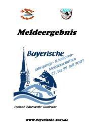 Meldeergebnis BJM - TSV Lindau 1850 e.V. - Abteilung Schwimmen
