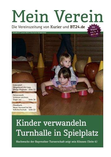 Kinder verwandeln Turnhalle in Spielplatz - Mein Verein ...