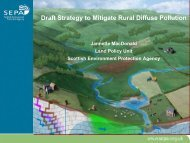 Draft Strategy to Mitigate Rural Diffuse Pollution - The Macaulay ...