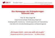 Die Homepage als Erfolgsbringer: Gewusst  wie. - Landkreis Neu-Ulm
