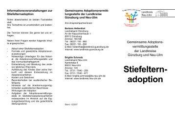 Stiefelternadoption - Landkreis Neu-Ulm