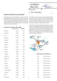Wirtschafts-Informationen Januar 2008 - Landkreis Neu-Ulm