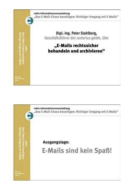E-Mail-Archivierung - Landkreis Neu-Ulm