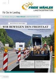 WIR BEWEGEN DEN FREISTAAT - Freie Wähler Bayern