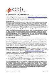 IT-Sicherheit durch Audit und Zertifizierung - Landkreis Neu-Ulm