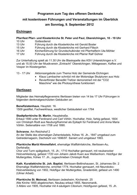 Programm - Landkreis Neu-Ulm