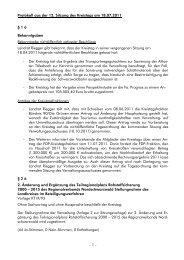 Protokoll aus der 12. Sitzung des Kreistags am ... - Landkreis Calw