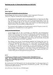 Beschlüsse aus der 12. Sitzung des Kreistags am ... - Landkreis Calw