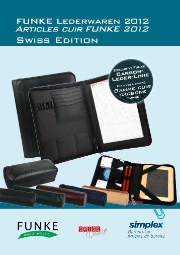 Schreib- und Ringbuchmappen haben diverse Fächer ... - Simplex AG