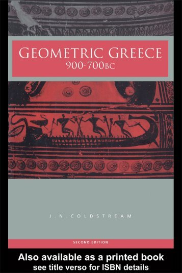 Geometric Greece: 900–700 BC. Second Edition - Index of