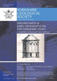 518 Yorks Geo - the Yorkshire Geological Society
