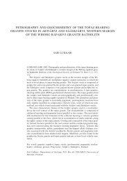petrography and geochemistry of the topaz-bearing granite stocks in ...