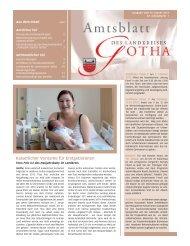 Amtsblatt vom 10.01.2013 - Landkreis Gotha